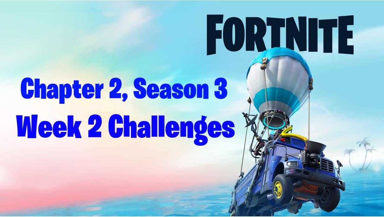 Fortnite Season 13 Week 2 Challenges