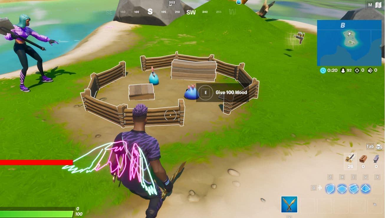 Fortnite Secret Mission - B1 Island
