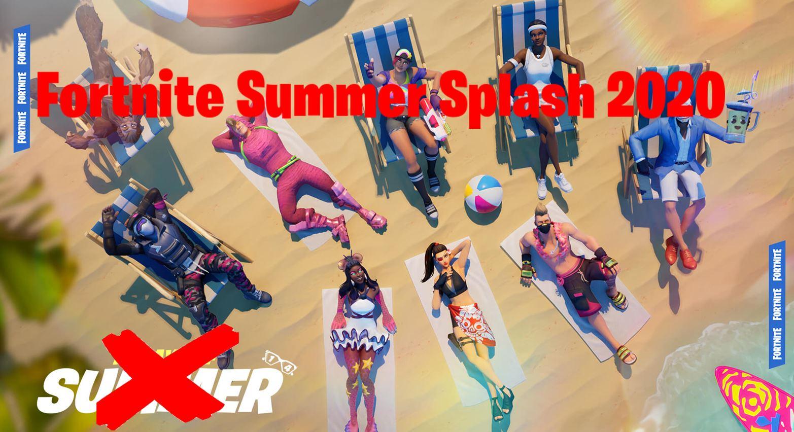 Fortnite Summer Splash 2020 Event