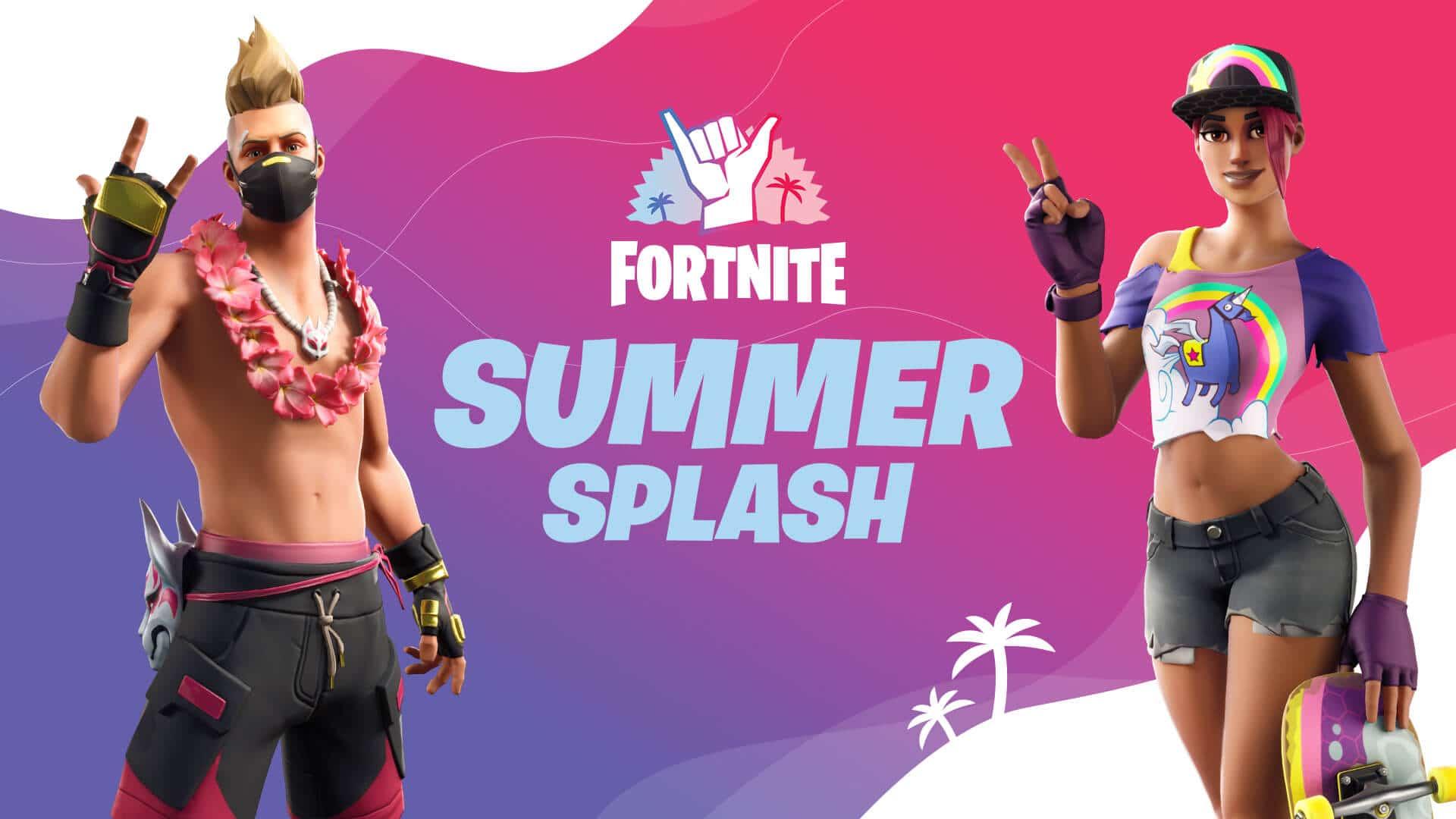 Fortnite Summer Splash Event