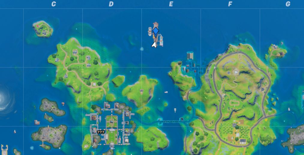 The Yacht Fortnite Season 3 Map Location