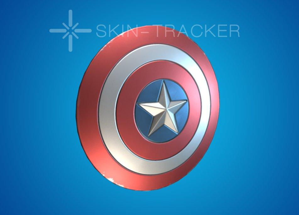 Captain America's Shield Back Bling Pickaxe
