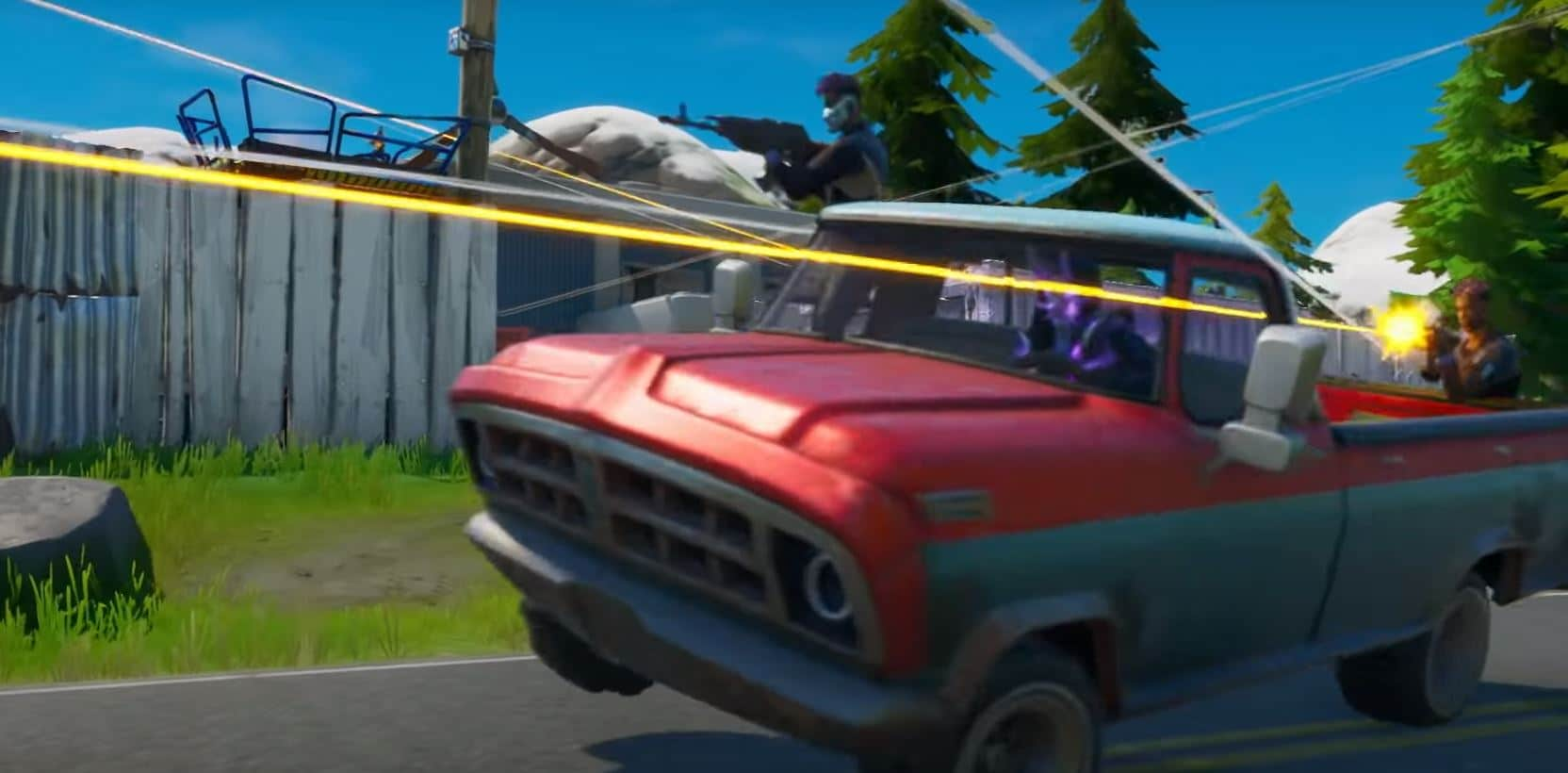 Fortnite Cars Update