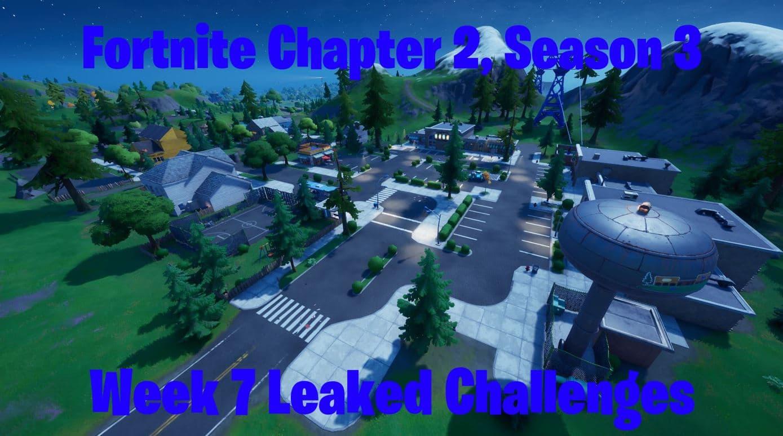 Fortnite Chapter 2, Season 3 Week 7 Leaked Challenges