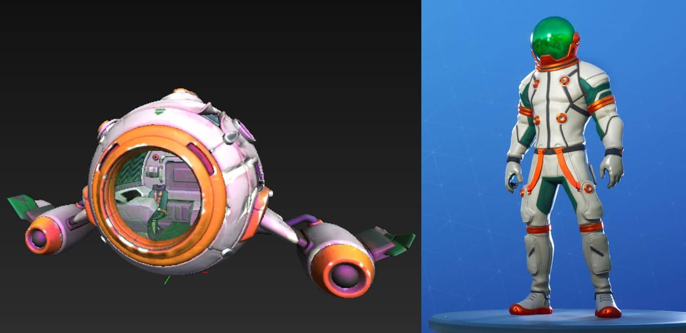 Fortnite Crash Site Leaked POI and Ancient Astronaut Challenges