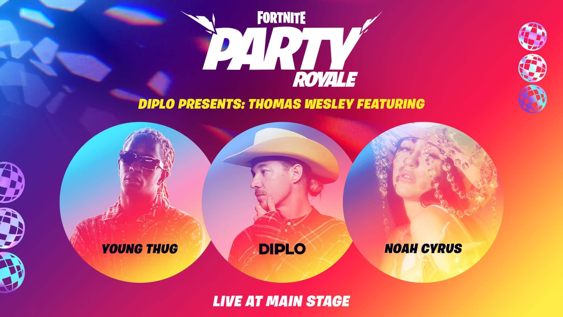 Fortnite Diplo: Thomas Wesley Premiere