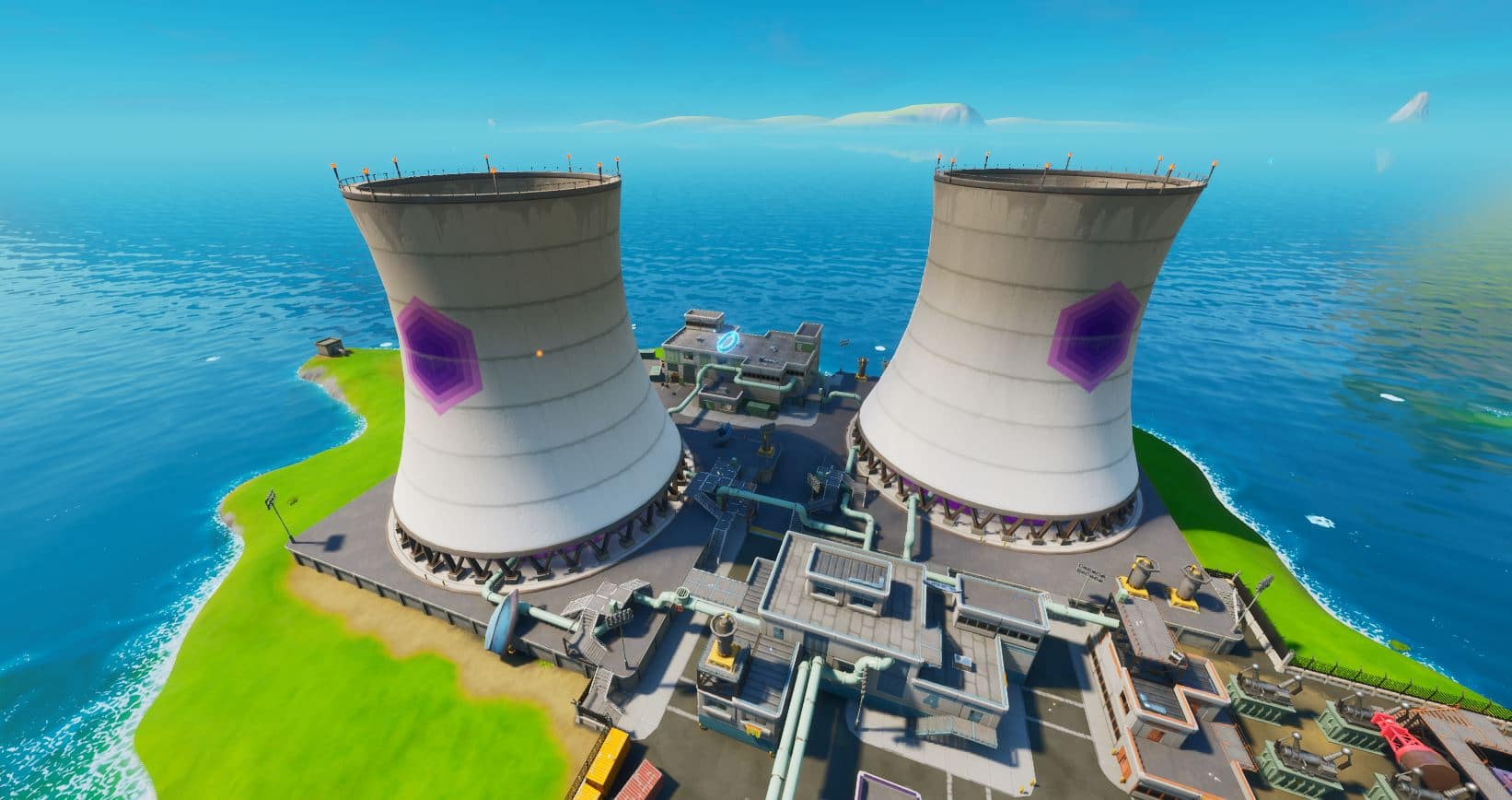 Fortnite Guide On How To Collect Floating Rings at Steamy Stacks