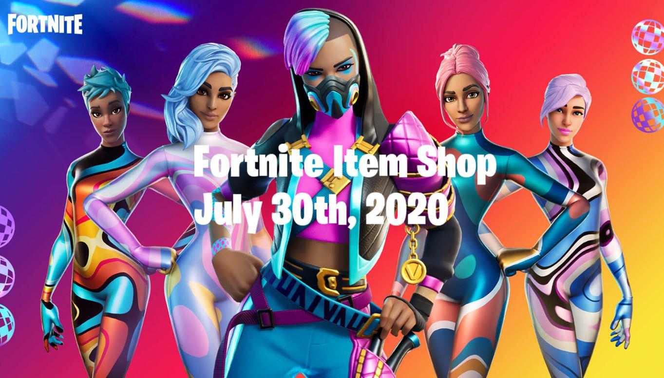 Fortnite Item Shop 30th July 2020