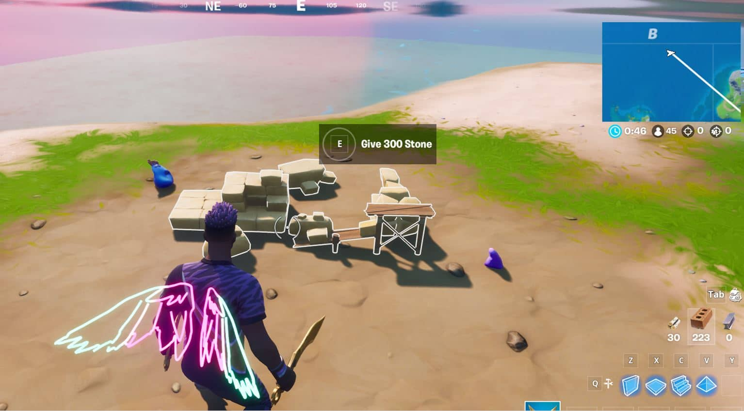 Fortnite Secret Mission- Give Stone to Coral Buddies
