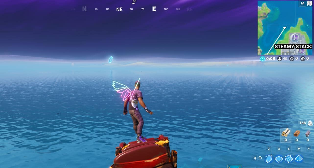Fortnite Steamy Stacks Floating Ring Location 2