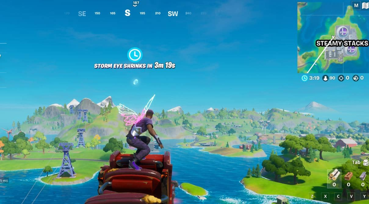 Fortnite Steamy Stacks Floating Ring Location 3