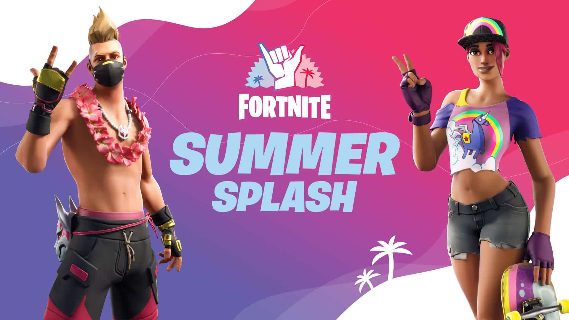 Fortnite Summer Splash 2020 - Summer Drift and Beach Bomber
