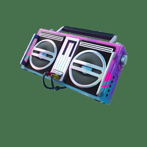 Fortnite v13.20 Leaked Back Bling - Boombox 3000