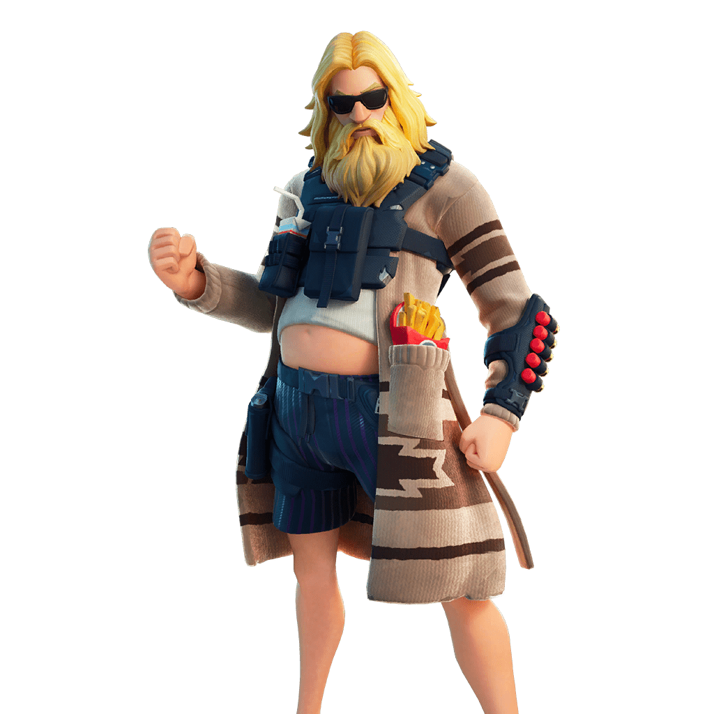 Fortnite v13.20 Leaked Skin - Dad Bod Jonesy