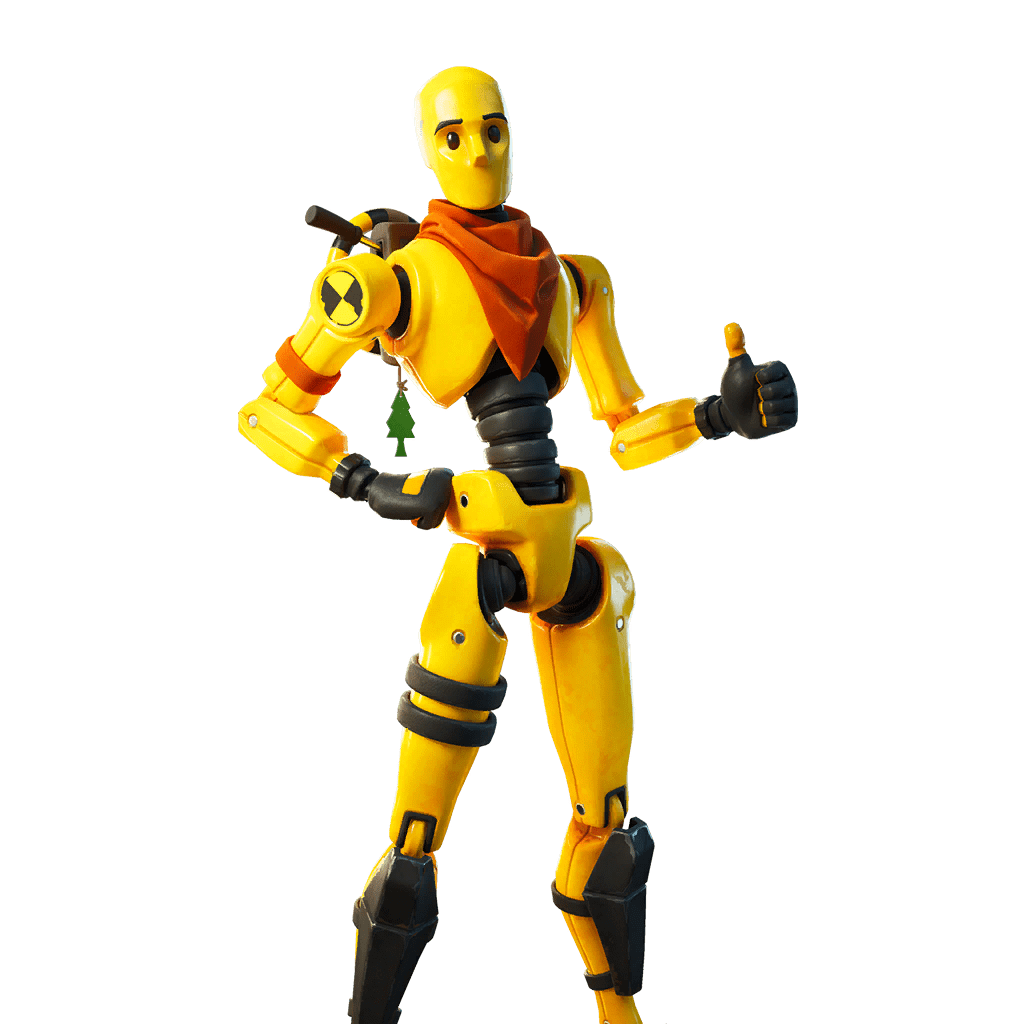 Fortnite v13.30 Leaked Skin - Dummy