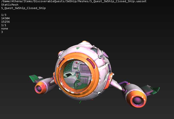 Fortnite v13.30 Leaked Spaceship