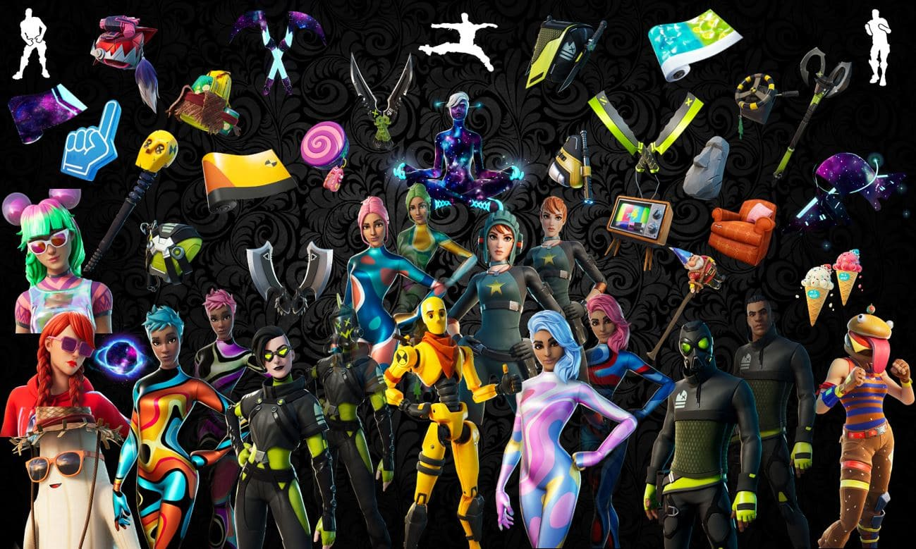 Names and Rarities of All Leaked Fortnite Cosmetics Found in v13.30 Files – Skins, Back Blings, Gliders, Pickaxes, Emotes & Wraps