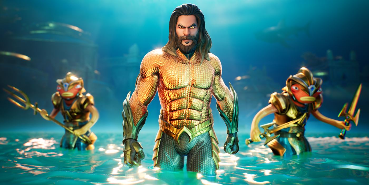 Fortnite Aquaman Atlantis Map Location New Fishstick Skin Style Teased Fortnite Insider