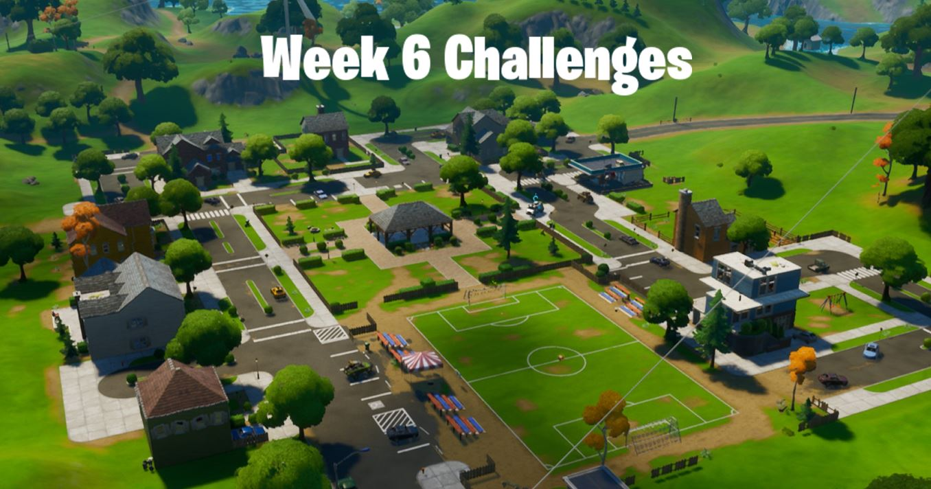 Season 3 Week 6 Fortnite Challenges