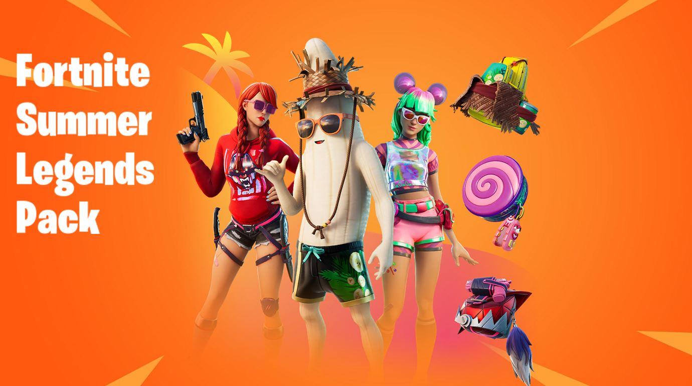 Summer Legends pack Fortnite