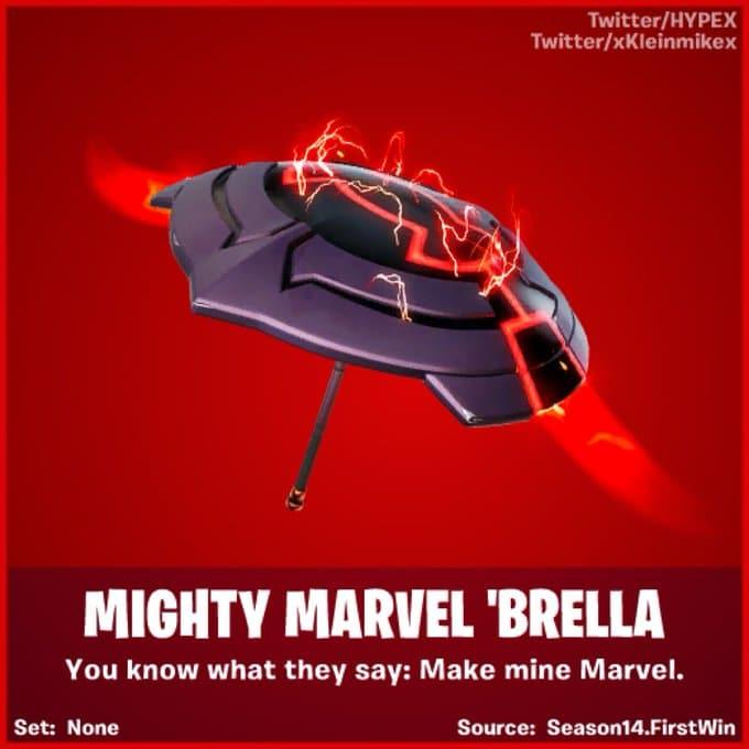 Fortnite Season 4 Leaked Winning Umbrella