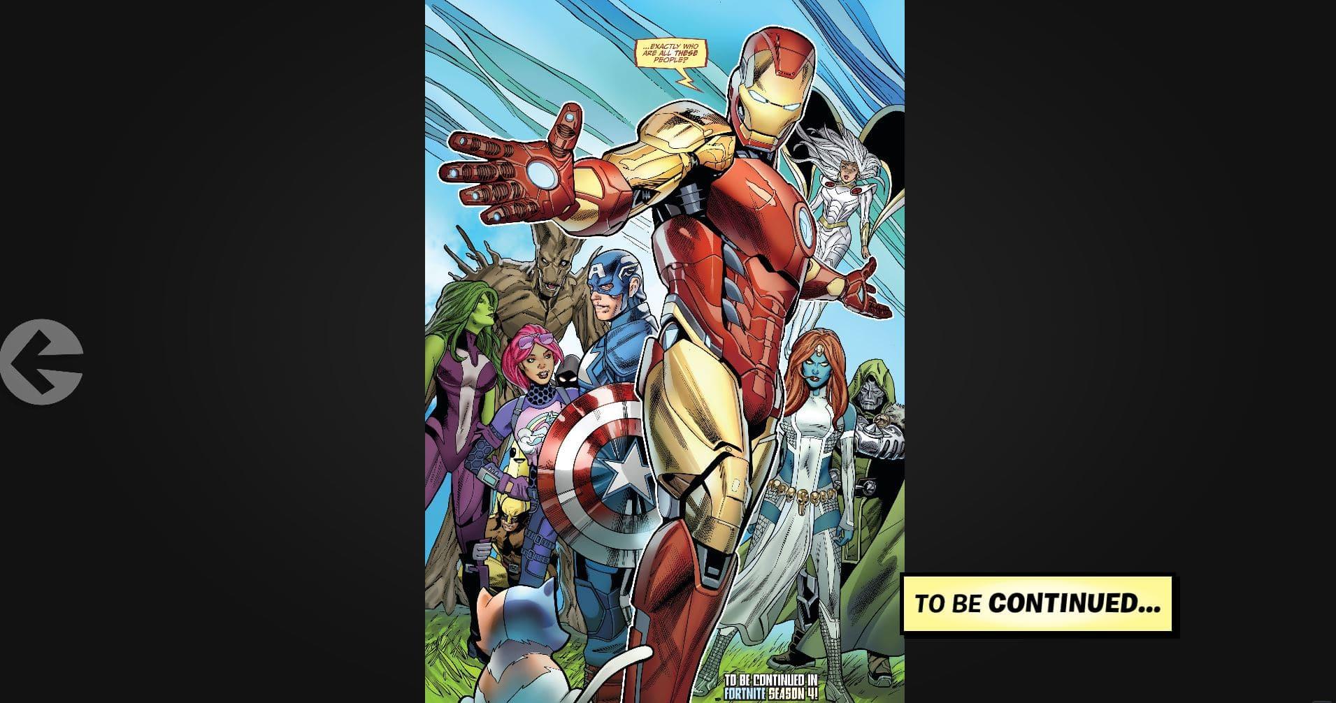 Fortnite x Marvel Characters