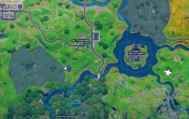 Fortnite Mjolnir Location  Where To Prove Your Worth By Picking Up Mjolnir As Thor
