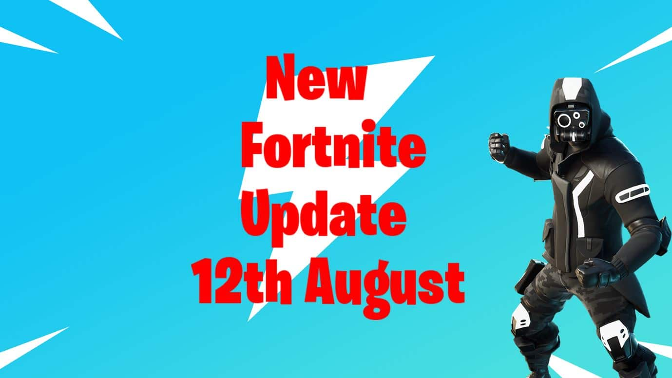 New Fortnite Update Today Patch Notes 12th August Fortnite Insider The update included a number of new files including upcoming skin leaks, challenges, and more. new fortnite update today patch notes