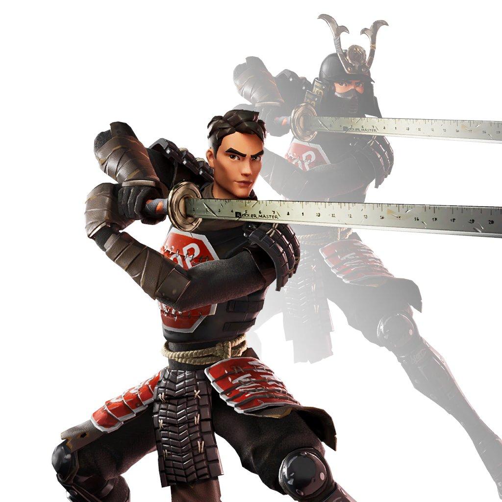 Samurai Scrapper Fortnite Skin