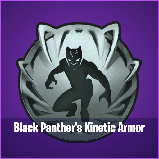Black Panther's Fortnite Kinetic Armour