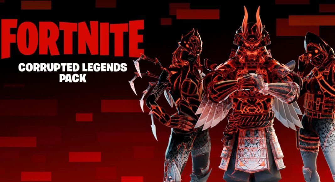 Corrupted Legends Fortnite Pack