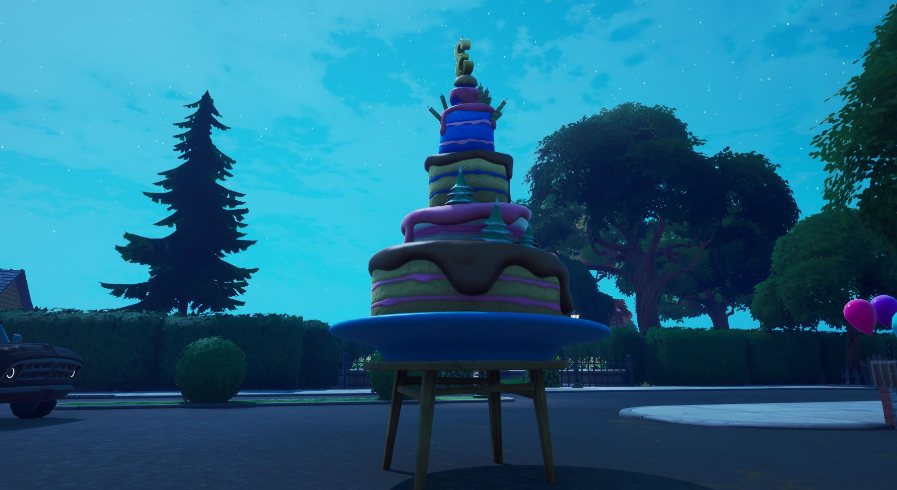 Fortnite Where To Find All Birthday Cakes For Season 9