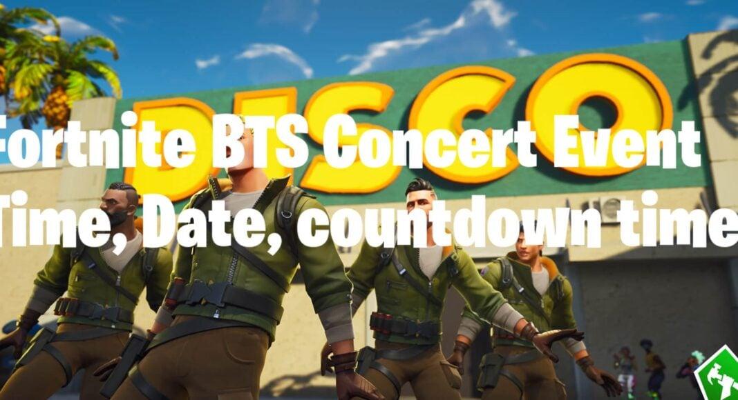 Fortnite BTS Concert Event Time