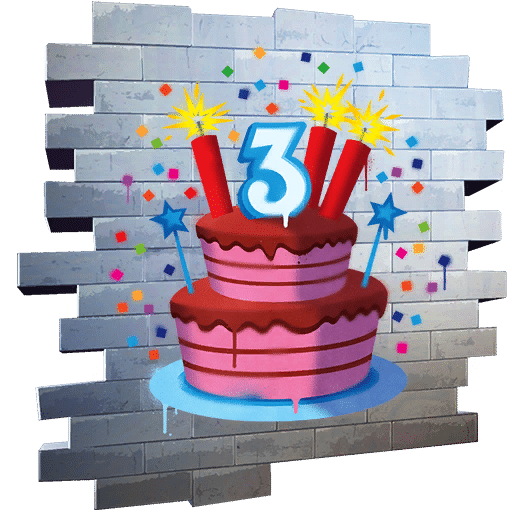 All Birthday Cake Locations Fortnite 3rd Birthday Challenges 2020