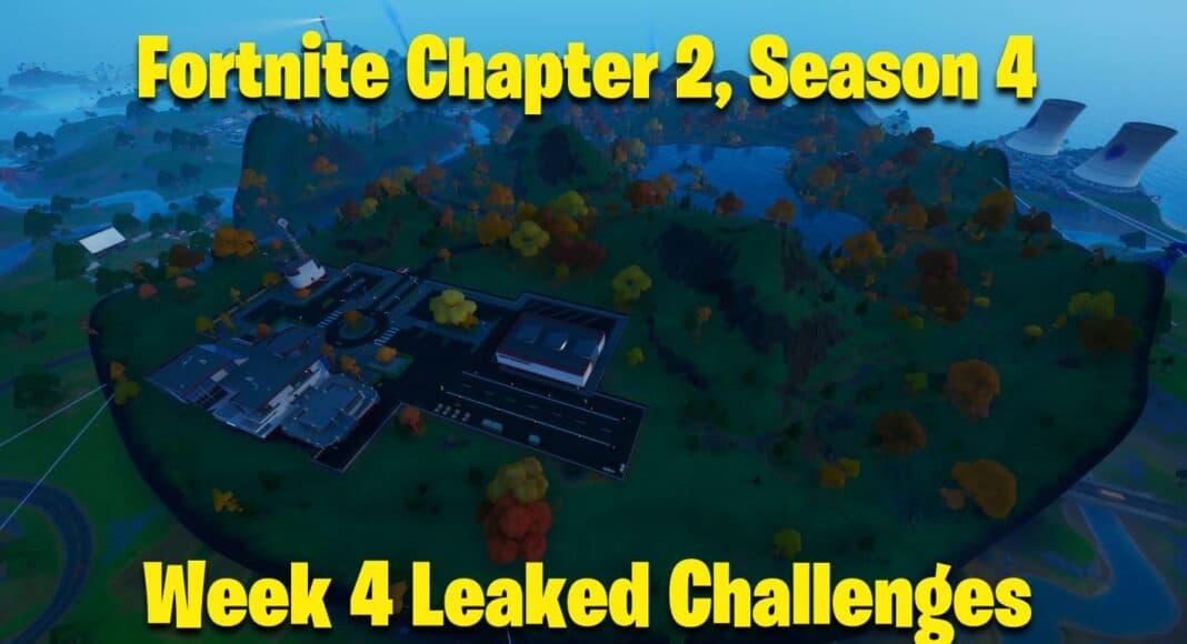 Fortnite Chapter 2, Season 4 Week 4 Leaked Challenges