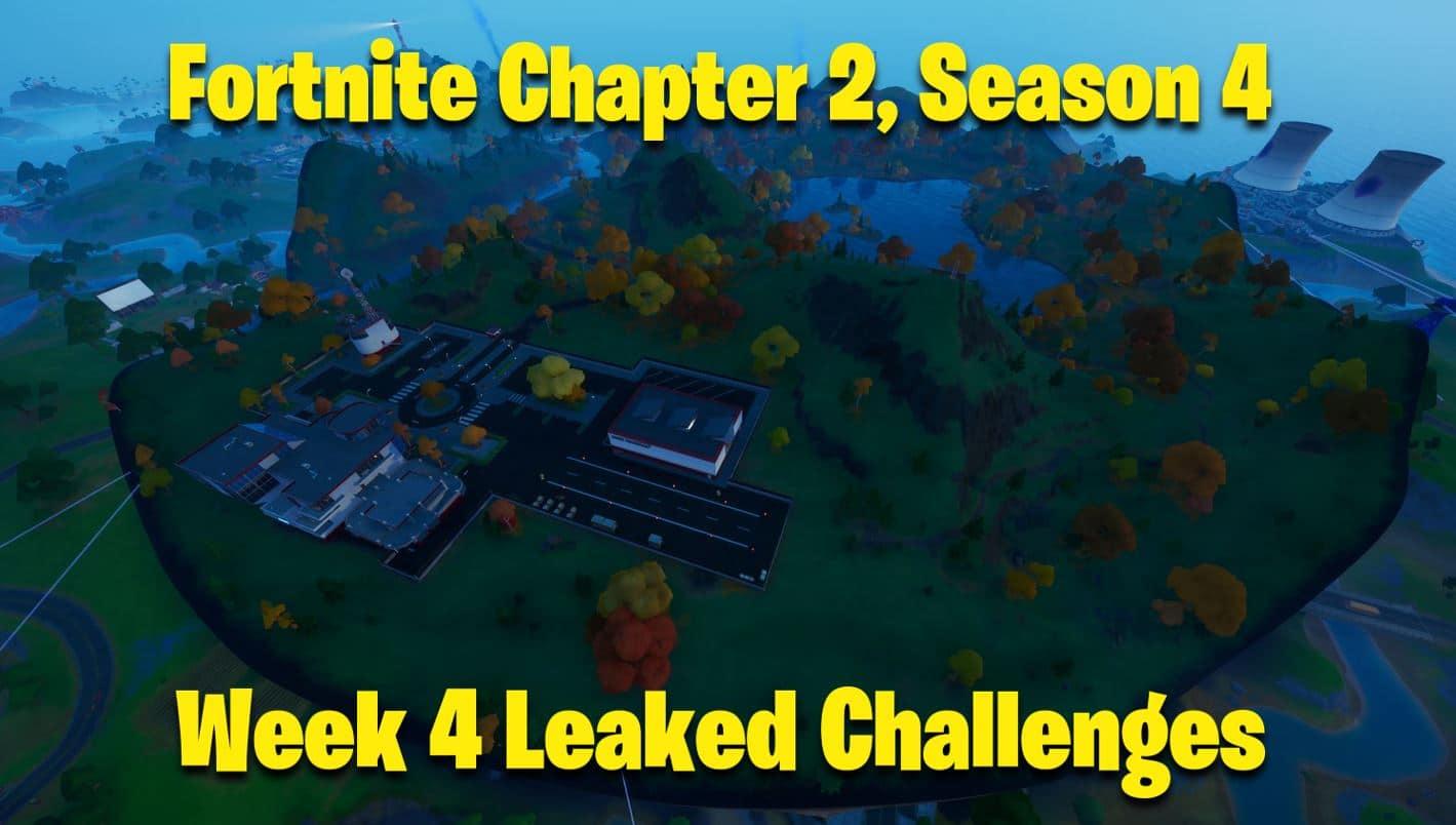 Fortnite Chapter 2 Season 4 Week 4 Leaked Challenges ...