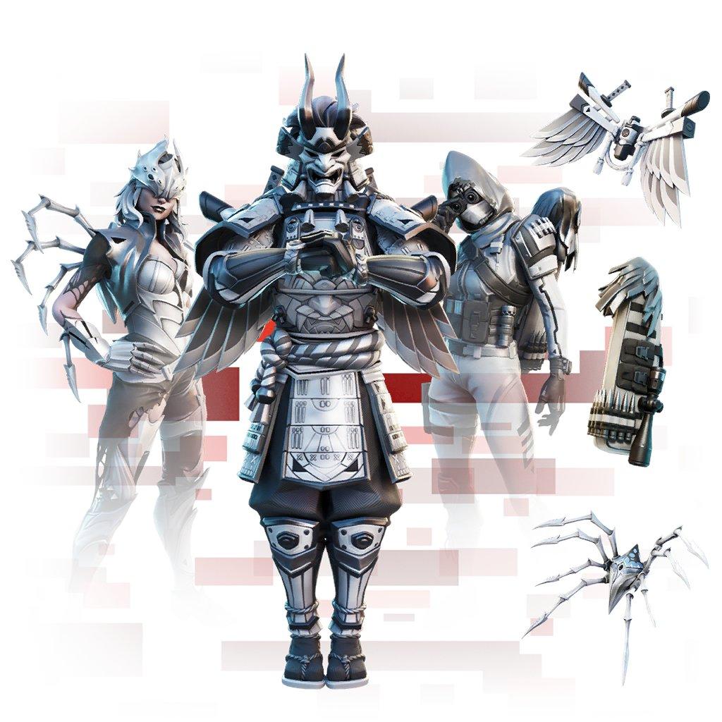 Fortnite Corrupted Legends Bundle