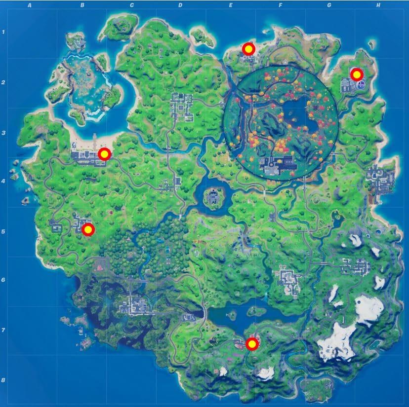 Fortnite Gnome Trap Map Location