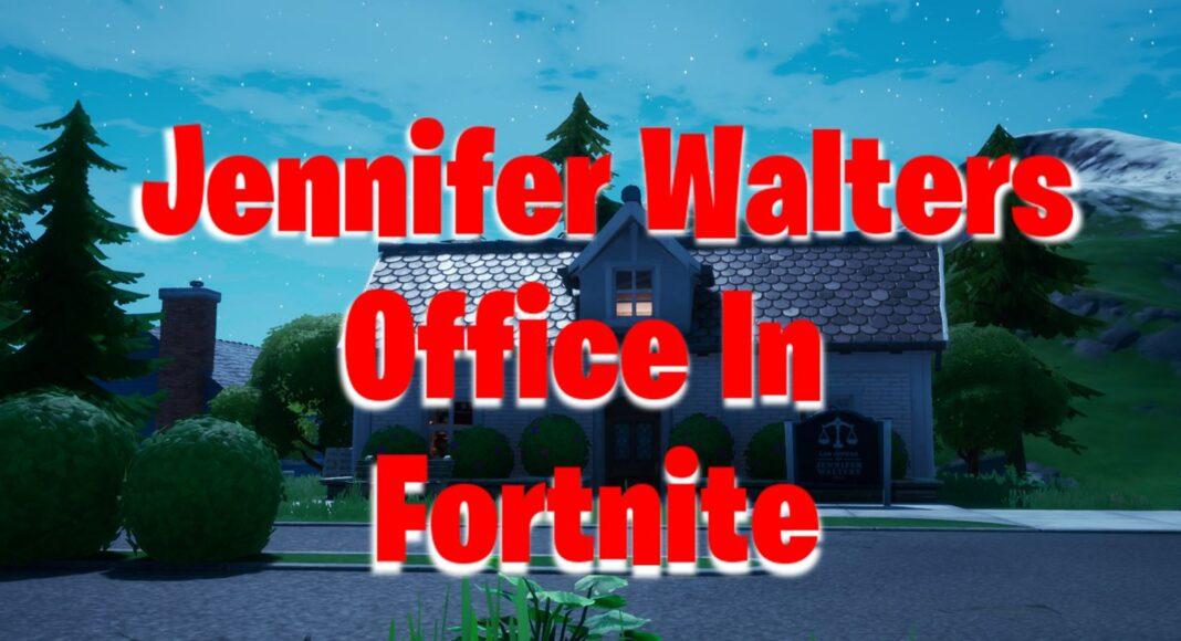 Fortnite Jennifer Walters Office Location