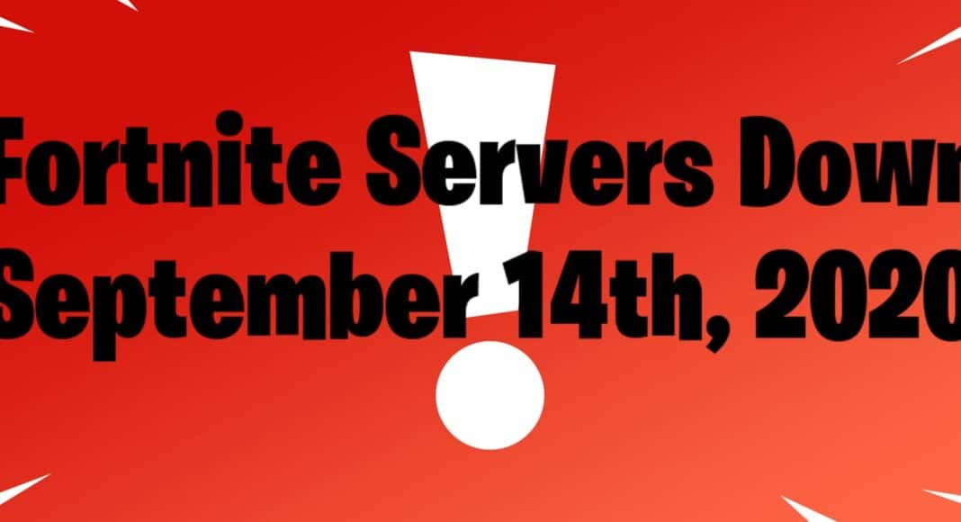 Fortnite Status Servers Down