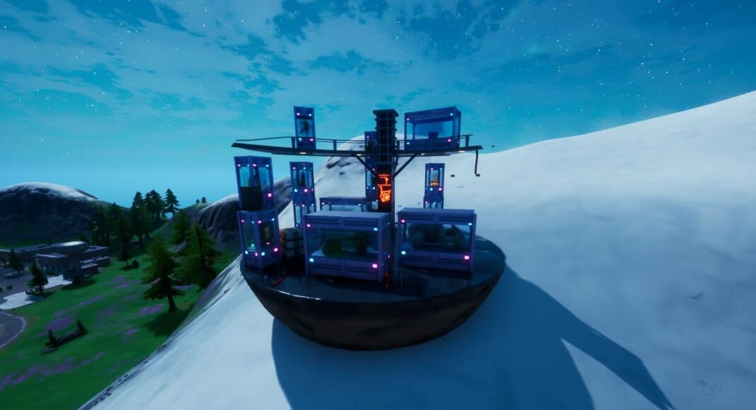 Fortnite The Collection Location