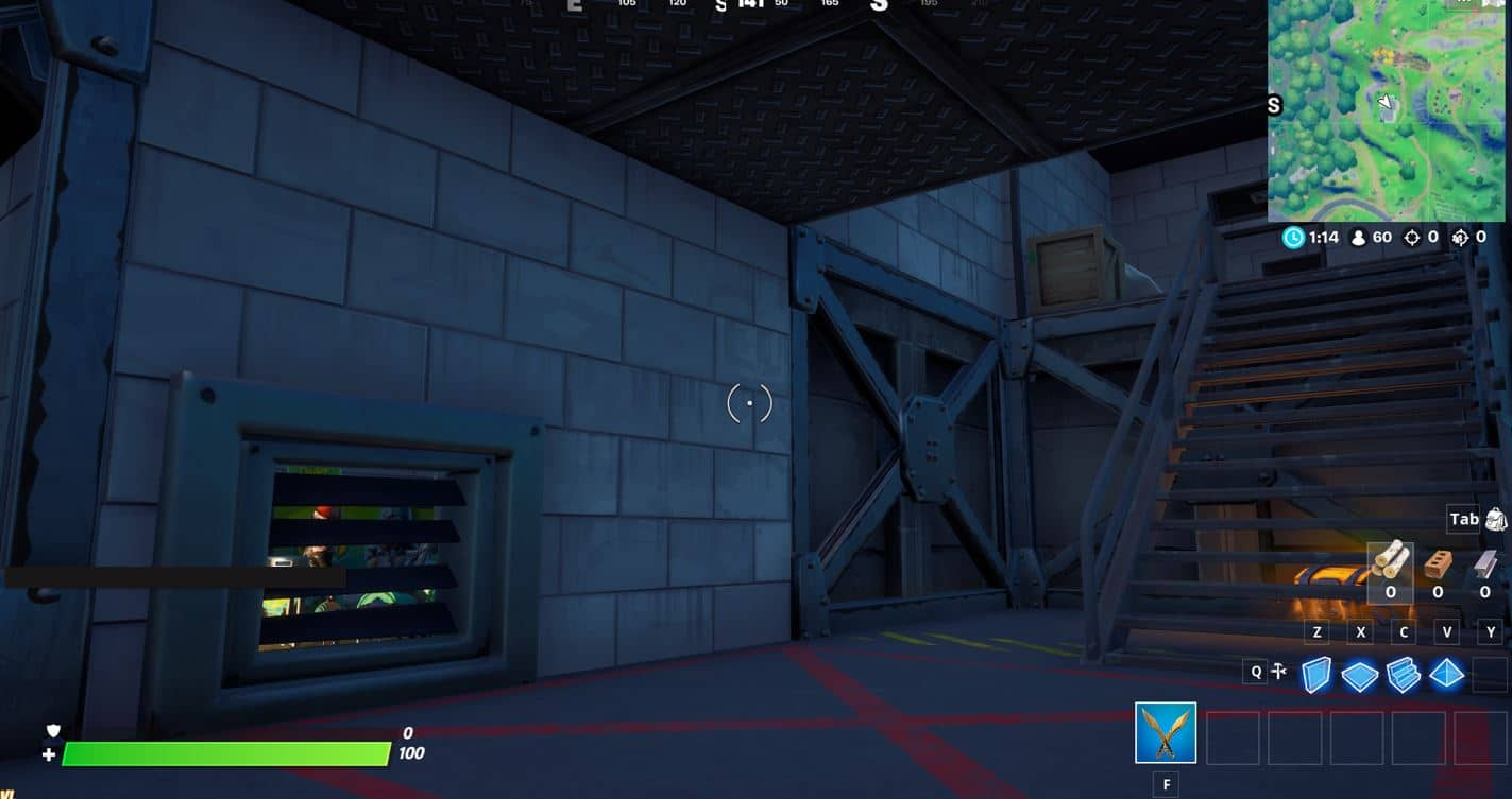Fortnite - The Lair Location Free XP Quest