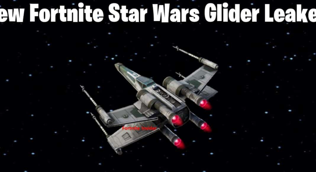 Fortnite Vanguard Squadron X-wing Star Wars Glider