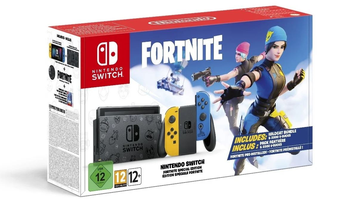 Fortnite Wildcat Nintendo Switch Bundle