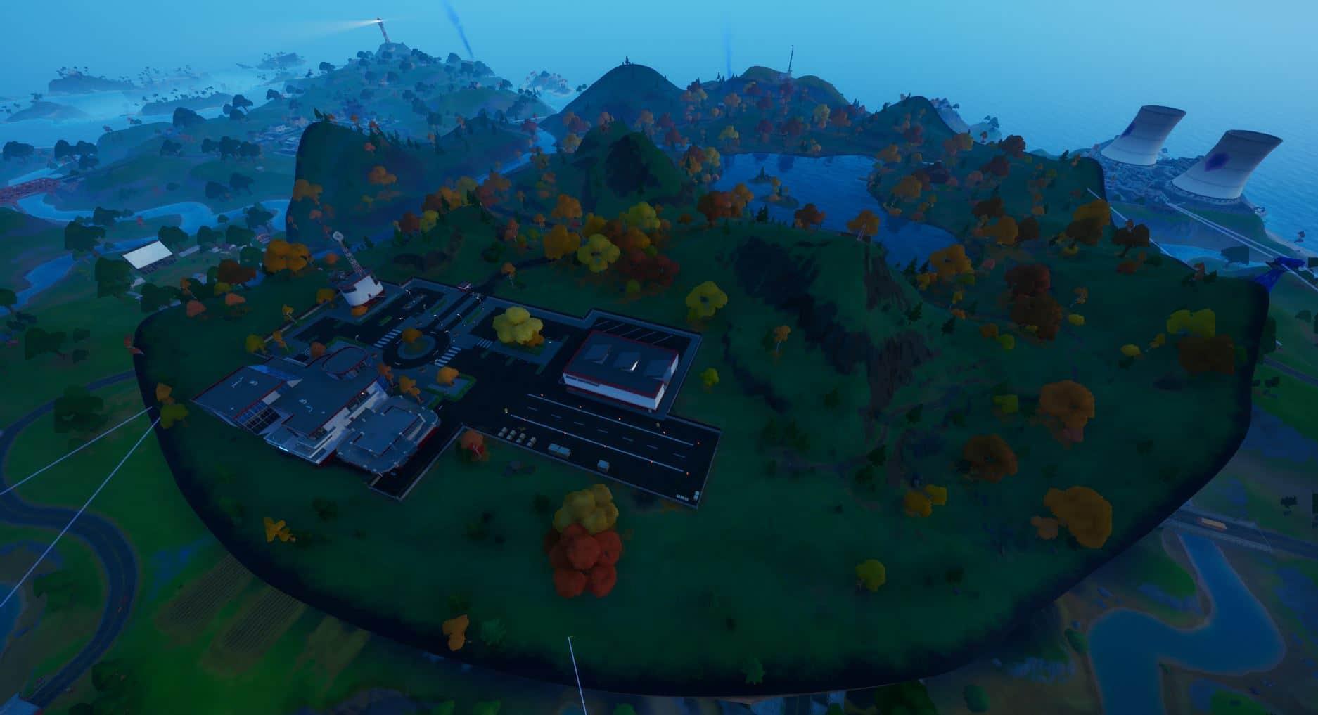 Fortnite v14.10 Map Changes - Stark Industries
