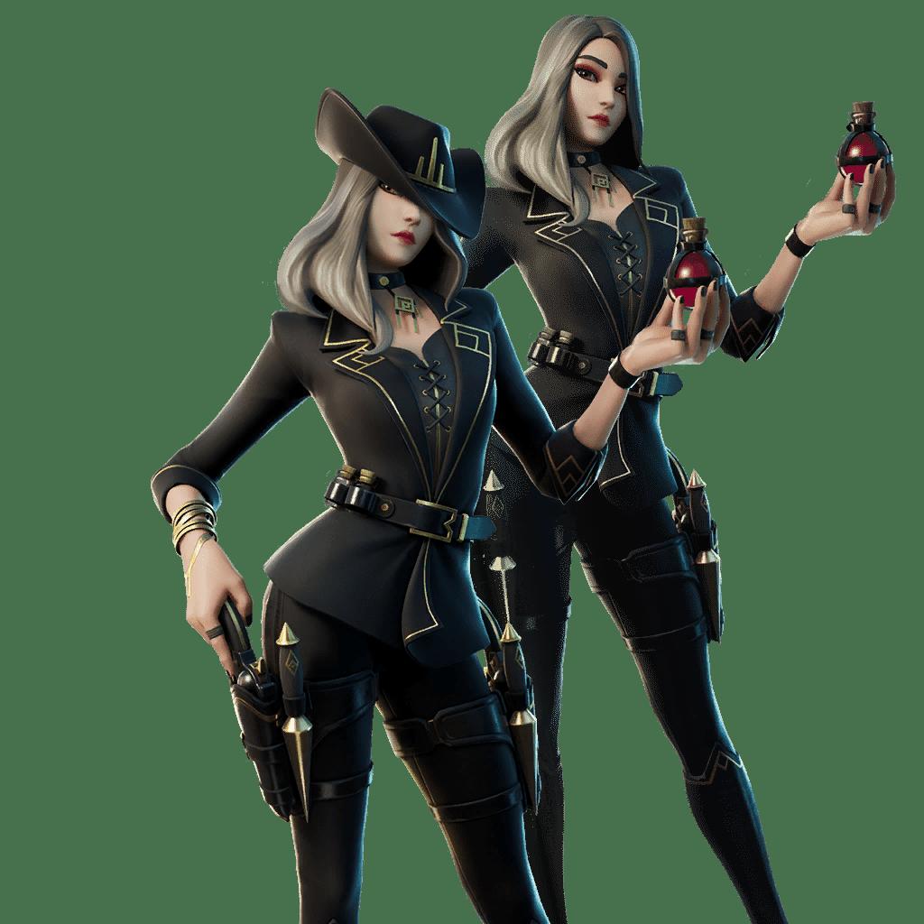 Fortnite v14.20 Leaked Skin - Victoria Saint