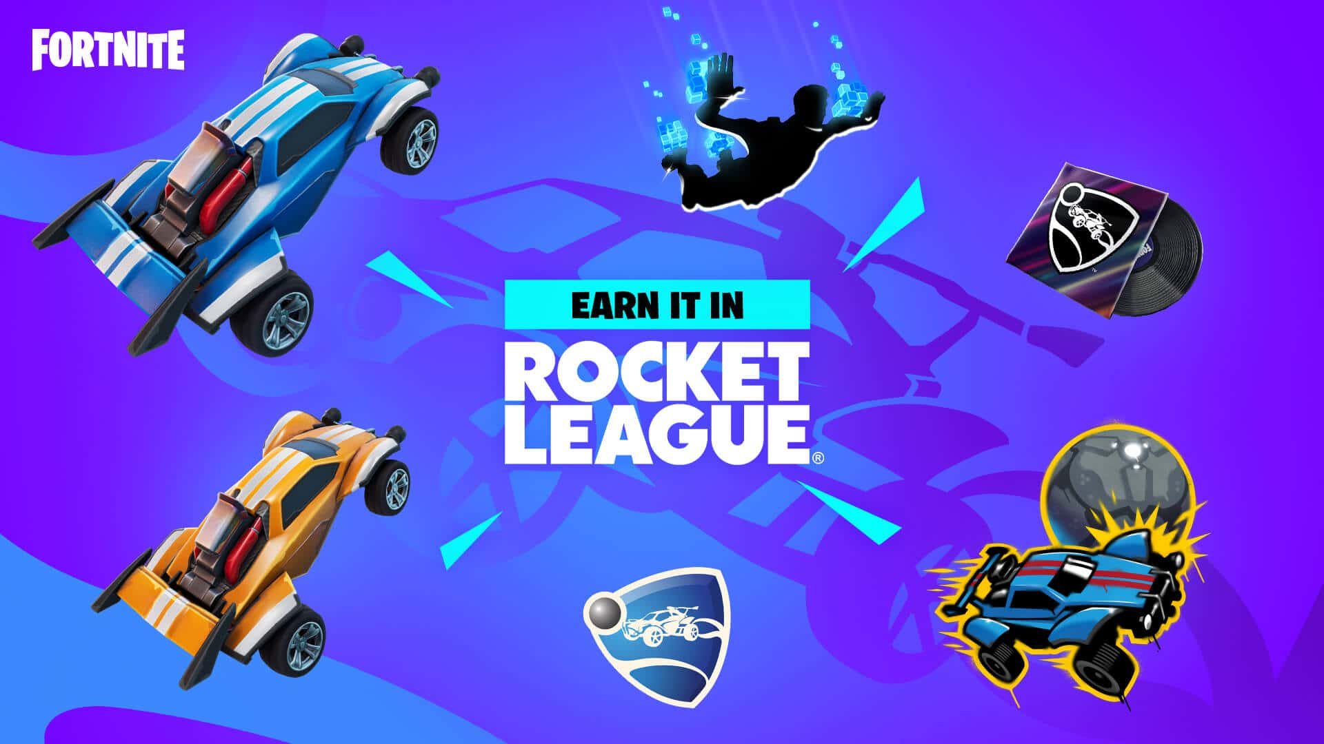 Fortnite x Rocket League Rewards