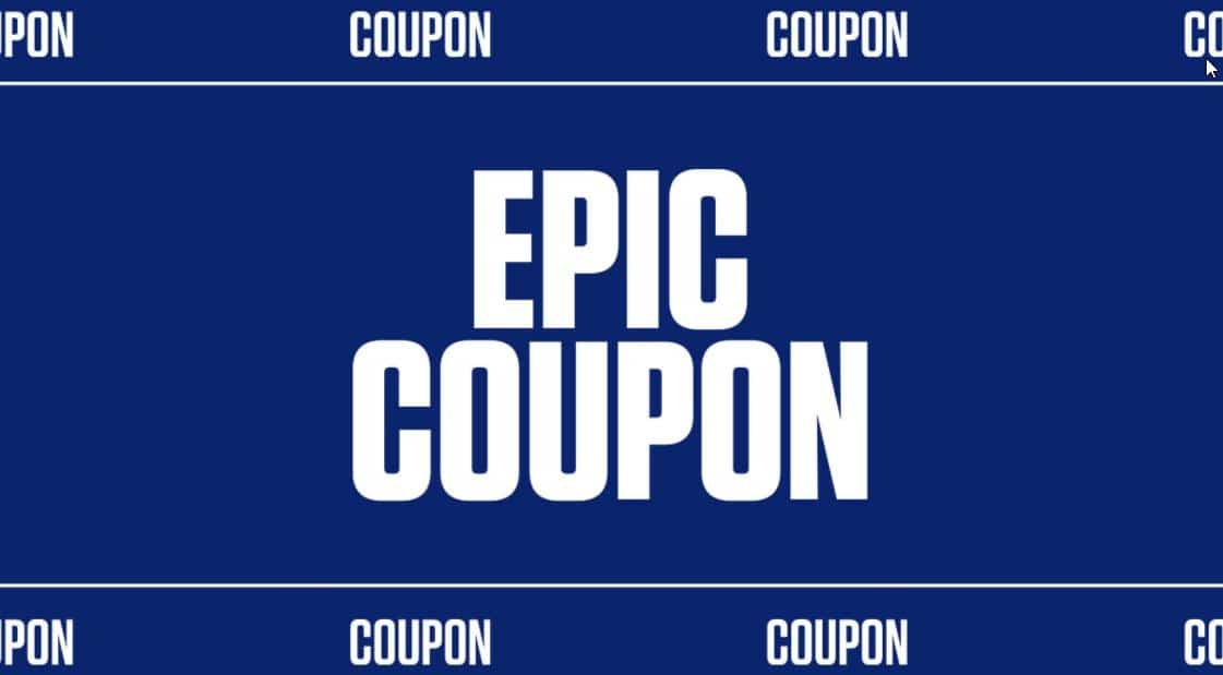 Free $10 Epic Games Store Coupon