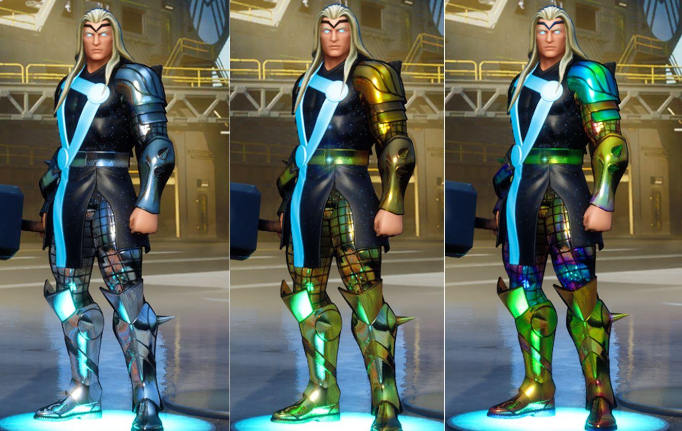 Thor Fortnite Foil Skin Styles