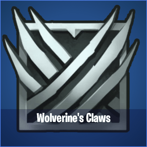 Wolverine Claws Fortnite mythic item
